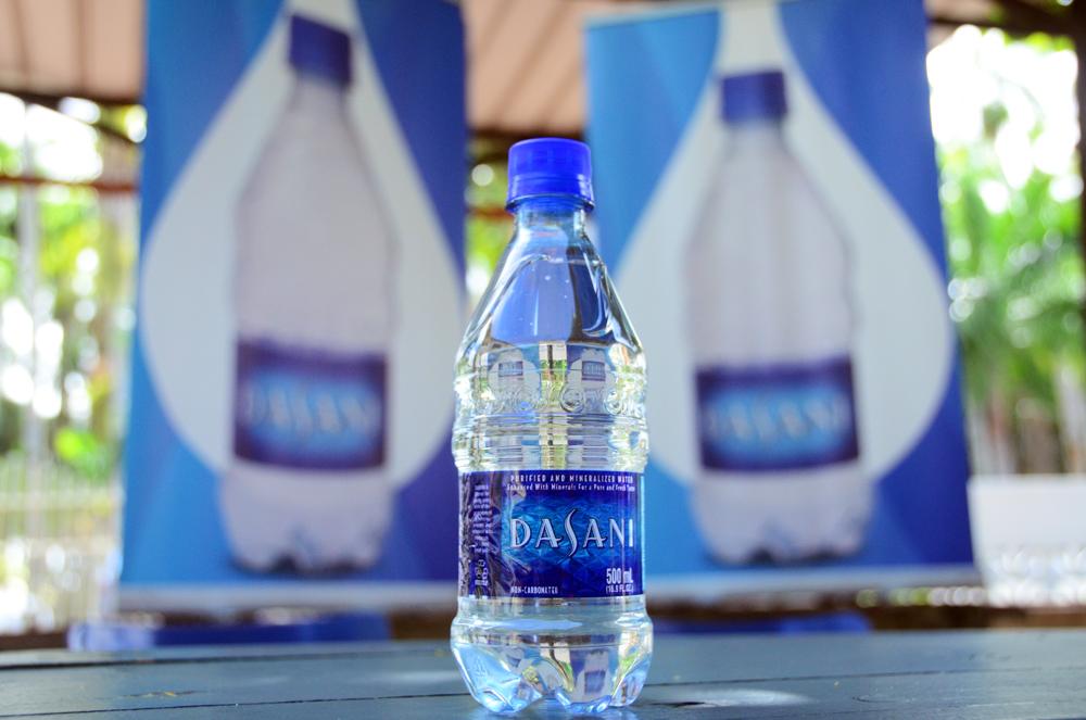 Dasani water persconferentie