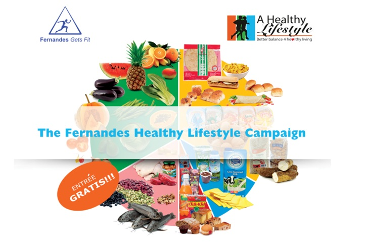 Fernandes Healthy Lifestyle Campaign lezing Eat Well Plate
