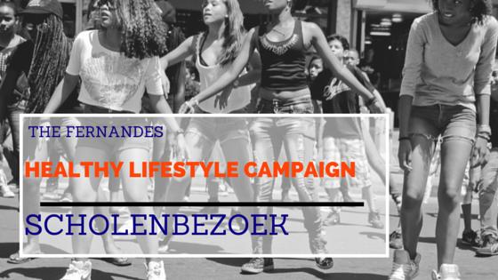 Scholenbezoek Fernandes Healthy Lifestyle Campaign