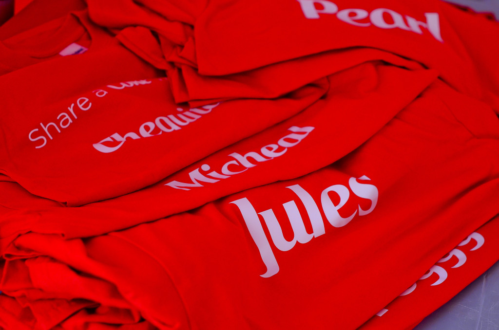 Share A Coke Suriname t-shirts