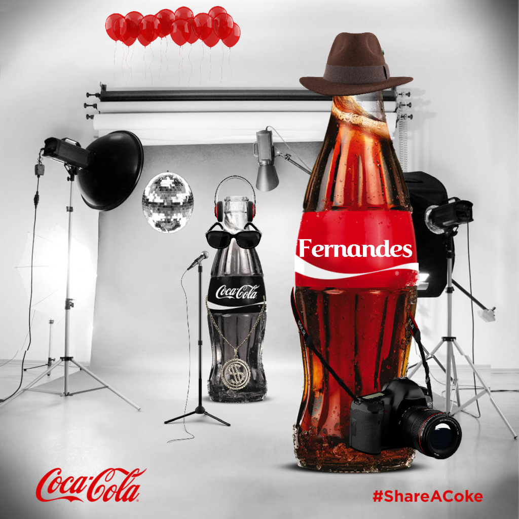 Share A Coke with Fernandes