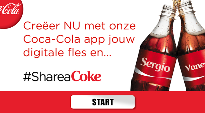 Share A Coke virtuele app