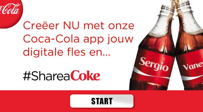 Share A Coke virtuele app
