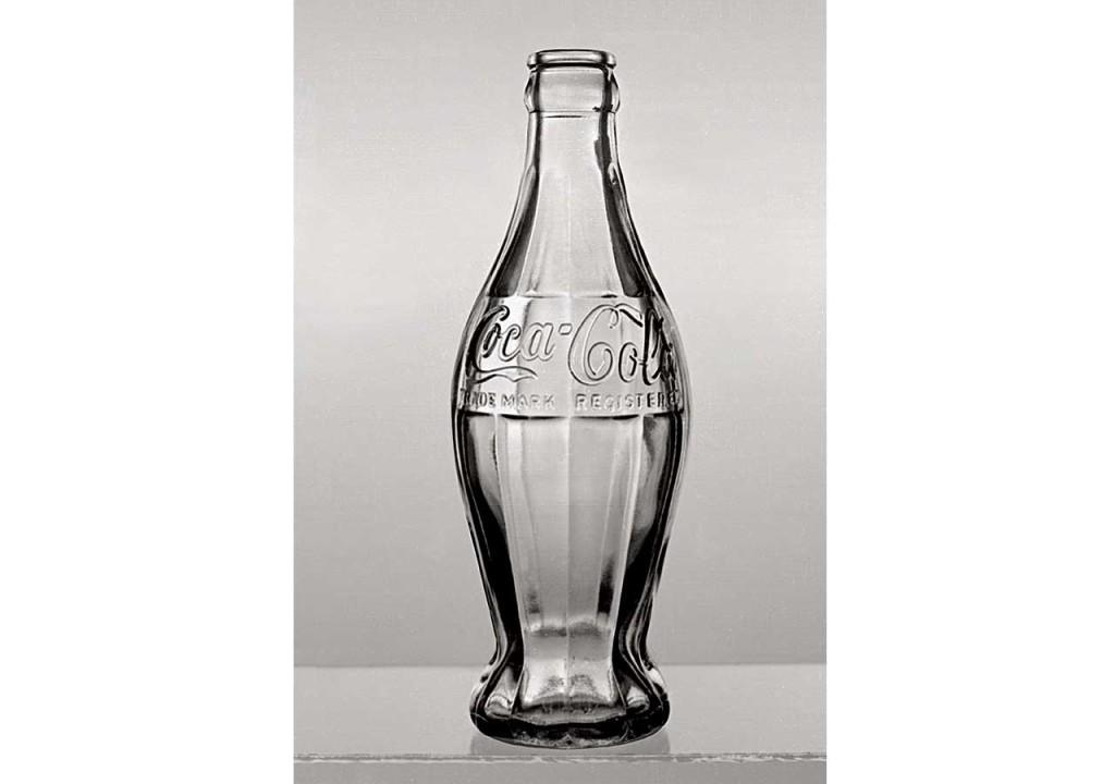 Imitatie Coca-Cola glazen fles