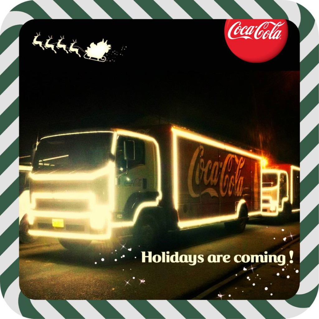 Coca-Cola Christmas Caravan Suriname 2015