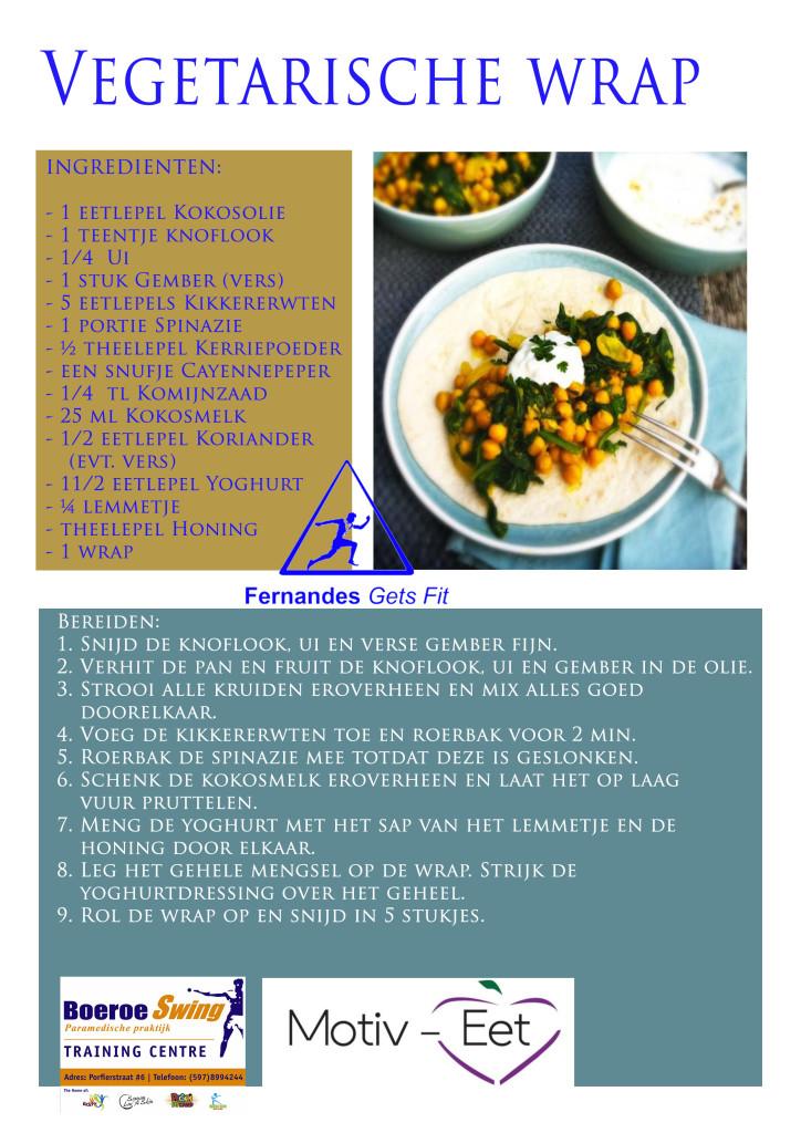 BoeroeSwing Motiv-eet Wrap recept Vegetarisch