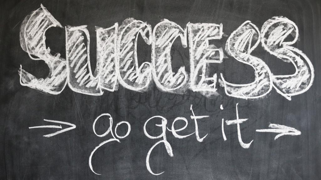 success met je goede voornemens