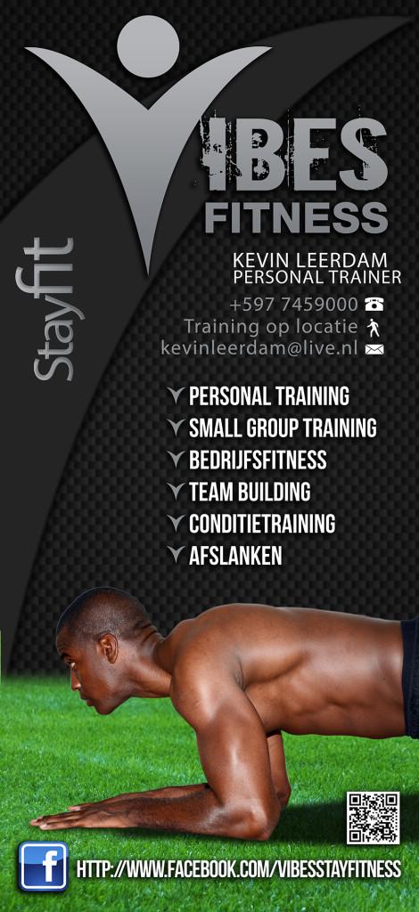 Vibes Fitness Banner Kevin Leerdam