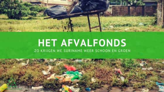 Het Afvalfonds fernandes goes green blogpost