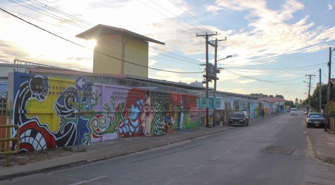 Switi Rauw Streetfest 2014 mural Fernandes Bottling