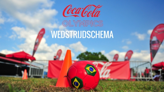 wedstrijdprogramma Coca-Cola Olympics Fernandes Bottling Company 2016